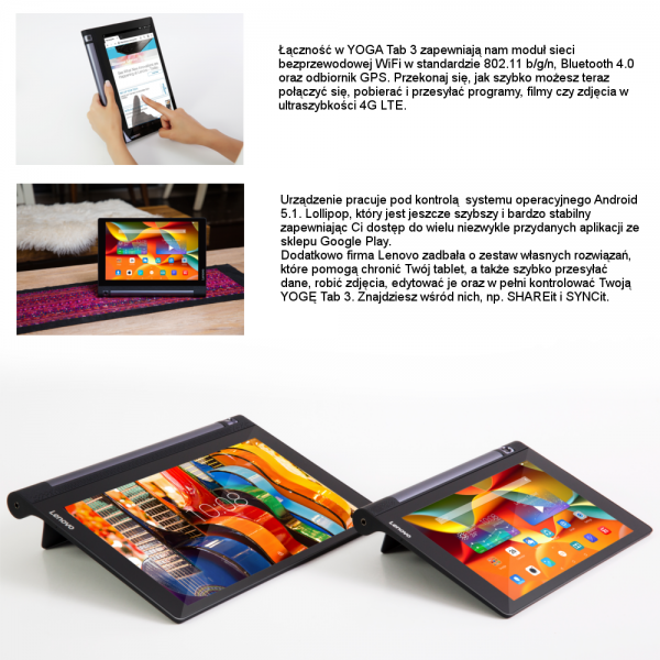 Tablet LENOVO Yoga 3 X50L 10''